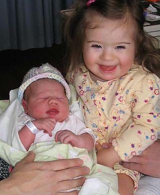 Kateri and Eliza 4-18-06