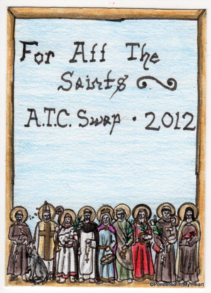 All Saints3 ATC Swap 2012026