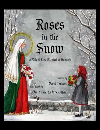 Roses in the Snow Cover Image